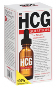 HCG Oral 30ml - NiGen BioTech